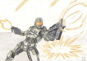 Master Chief by Turock-X