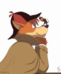 Furry Detectives by Goldy--Gry