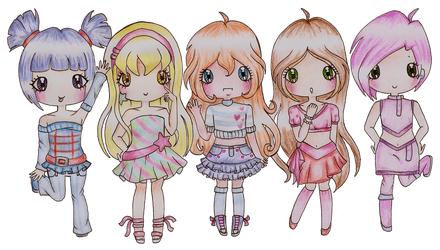 Winx Club by Bee-chii