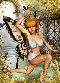 Butterfly Nymph by lowriderchick