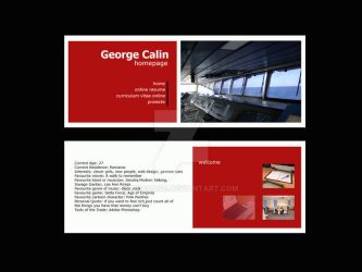 homepage layout by cgeorge