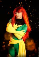 Jean Grey Phoenix by JulieFiction