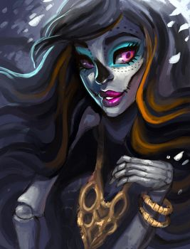 Skelita Calaveras by asieybarbie
