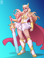 She Ra by tobypng