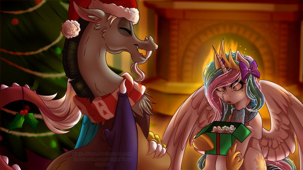 Mysterious Gift by Ginja-Hime