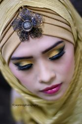 Modest in Gold (Details) by Mina-Ficent