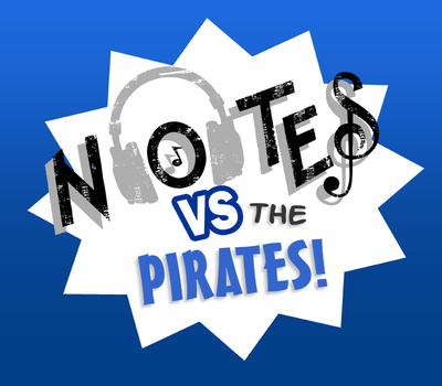 Notes vs. the Pirates. by SuperheroEnterprise