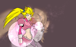 princess peach by me-i-ke
