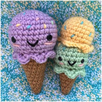 Ice Cream Cones by TheArtisansNook