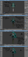 ~{MMD To Blender Posing Tutorial}~ by Fissart