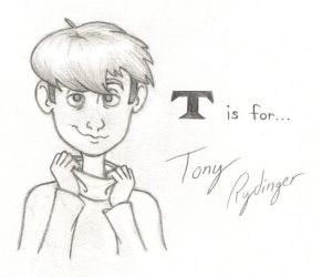T is for Tony Rydinger by PixarVixen
