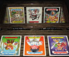 Box 55. Garbage Pail Kids 2. Inside Front by WesleyYoung