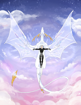[DAMMED] - Take To The Skies by aomaoe