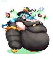 Fat Weaver - Witch Costume by Plumpchu