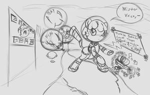 Play Fun Yay - An uncolored Puppysmiles Sketch by Retl