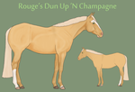 Rouge's Dun Up N' Champagne by theRyanna