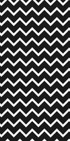 black and white chevron - custom box background by SugareeSweets