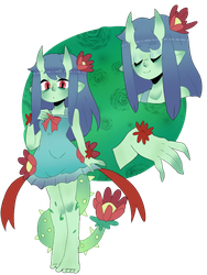DT: Demon plant bab by OctiPocki