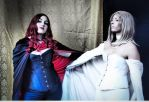 The White Queen and Black Queen by MadameNemo