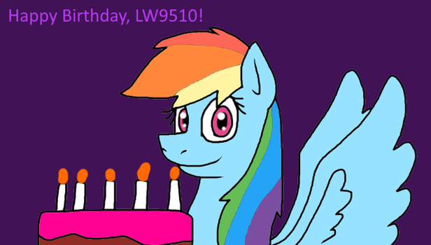 Happy Birthday, LW9510! by alexeigribanov