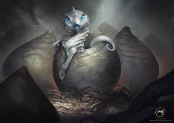 Happy Easter Dragon by AlectorFencer