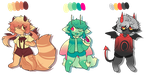 some adopts - closed by ghosteau