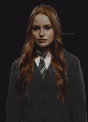 Madelaine Petsch// Serpentard // Slytherin by N0xentra