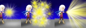 Micaiah Moveset B Neutral: (Light Tomes) by ThanyTony