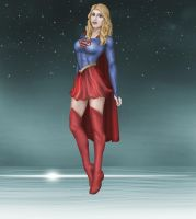 DC : Supergirl - Kara Zor-El (Prime Earth) - 001 by kamSXXX