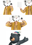 Meme Soohorang and Bandabi =) by YuliaRabbid