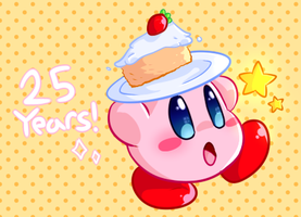 25 years of kirby!!! by nyakka