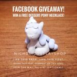Facebook Giveaway - Dessert Pony Necklace! by NicholiDeSchidor