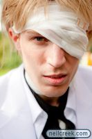 Rufus Shinra - Close up by Broomie0
