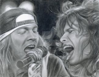 Axl and Steven by LatinPrincess17