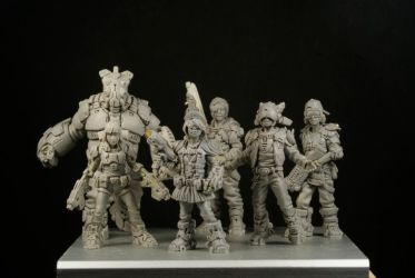 Zombicide Invaders Orphans by The-Small