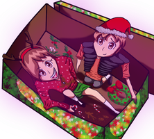 Christmas surprise from the Pines twins by DSakanumbuh419