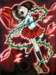 Ib: The Innocent Red Rose by ScarletJewelCV05
