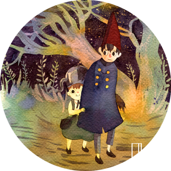Over the Garden Wall by Glad-Sad