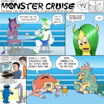 Scenes from a Monster Cruise 10 by KTurtle