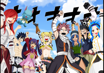 Fairy Tail is back! by MDesignInc