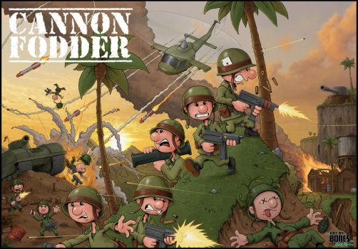 Cannon Fodder by ArtbyBones
