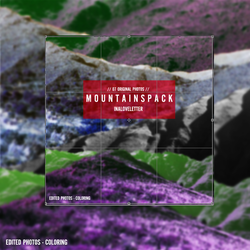 MOUNTAINS PNG [FREE ORIGINAL PACK] by inaloveletter