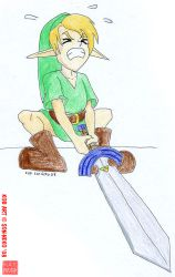 Lil Hero of Time by Son-Neko