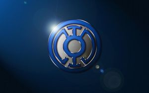 Blue Lantern Logo Wallpaper by SUPERMAN3D