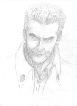 12th Doctor by kerchow