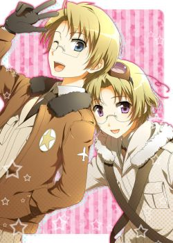 APH Canada and America 2 by Hetalia92