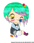 LM.C Lollipop Princess by XxXPixelPerfectXxX