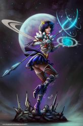 Sailor Saturn by EdgarSandoval