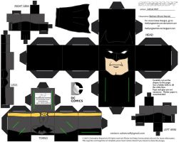 DCNU1: Batman Cubee by TheFlyingDachshund