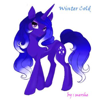 Winter Cold by mershe